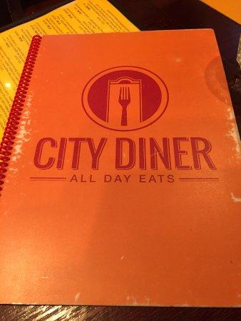 City Diner: Menu image
