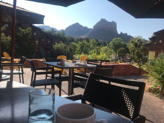 Kimpton Amara Resort & Spa: View while eating breakfast