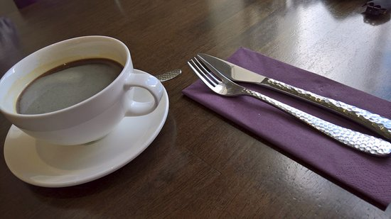Dromore, UK: ... love the cutlery and crockery ...