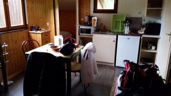 Metzeral, Frankrijk: Pièce à vivre avec coin canapé et télé que l'on ne voit pas sur la photo