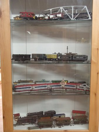 Chadron, NE: Modeltrains, Dawes County Historical Museum