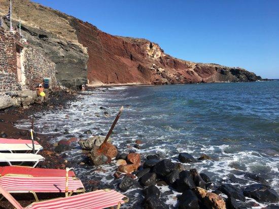 Red Beach Santorini Greece Picture Of 7 Wonders Travel