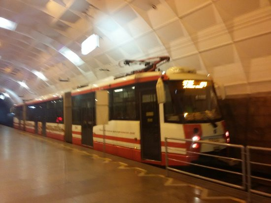 Volgograd Speed Tram: Новые вагоны на линии метротрама