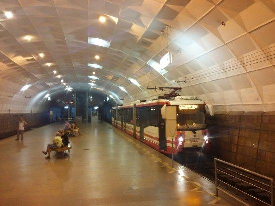 """Volgograd Speed Tram: На станции """"Площадь Ленина"""""""