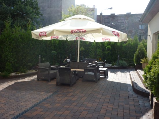 Hotel Columbus: Garden