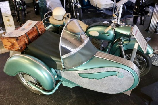 1957 Mz Es250 With Sidecar Picture Of