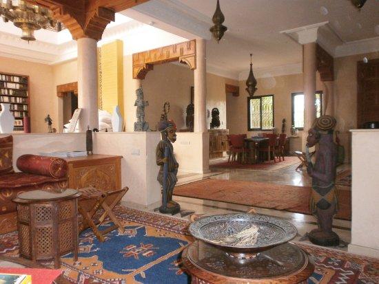 dar basma salon marocain et salle manger
