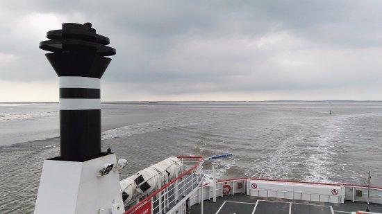 Holwerd, Belanda: Veerboot naar Ameland