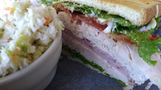 Wilkesboro, NC: Club sandwich with extra turkey.  Amazing.