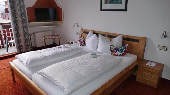 Wochner's Hotel Sternen : kamer voorzijde hotel