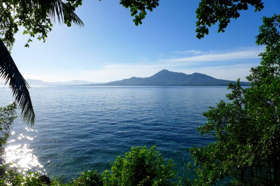 Bunaken Divers - Sea Breeze Dive Resort: The view from our beach front bungalow