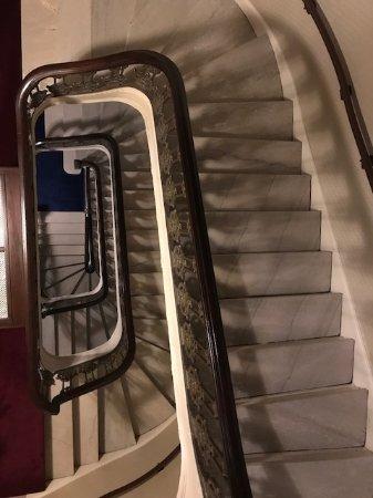 Fairmont Copley Plaza, Boston: Staircase Next To Elevator