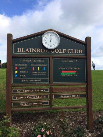 Kildare - Wicklow (kontluklar), İrlanda: Blainroe Golf Club