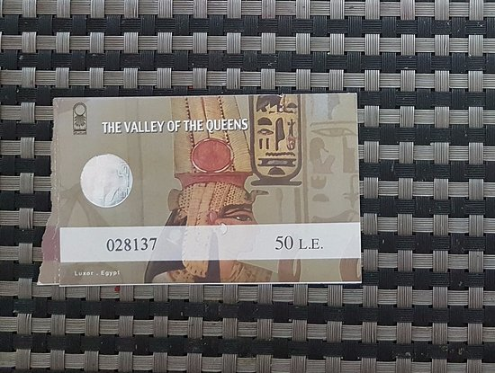 Valley of the Queens: Ticket
