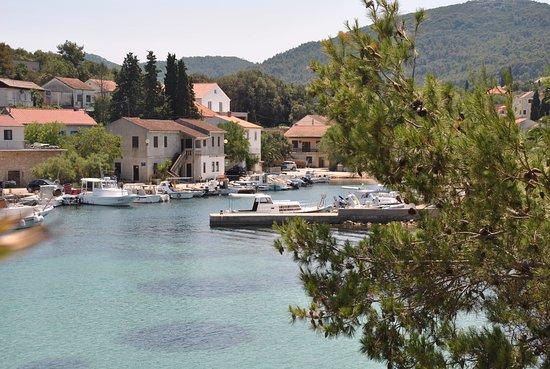 Sali, Kroasia: Ausblick von der oberen Terrasse