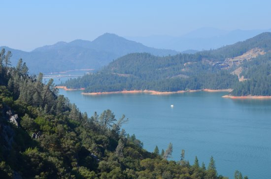 Lakehead, CA: View from the Lake Shasta Caverns