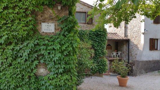 Montieri, Italia: Appena si arriva; il primo impatto! Molto buono