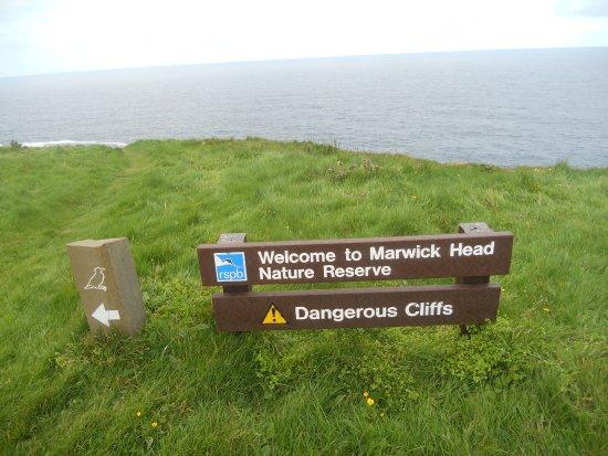 Mainland, UK: Cartello segnaletico