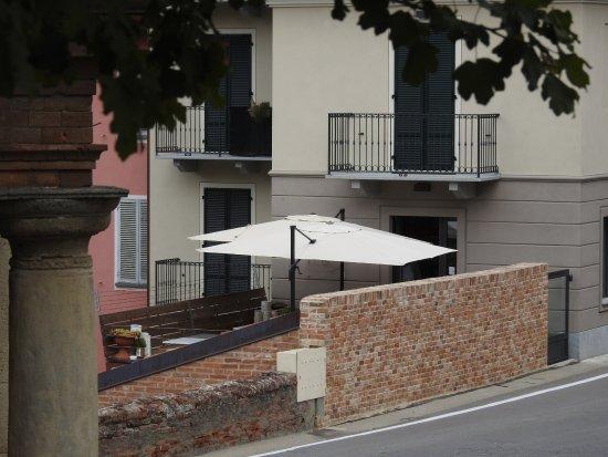 Govone, Italy: Terrazzo