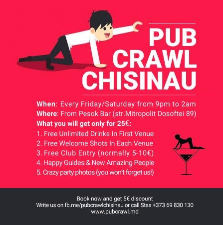 Pub Crawl (Chisinau) - 2018 All You Need to Know Before ...