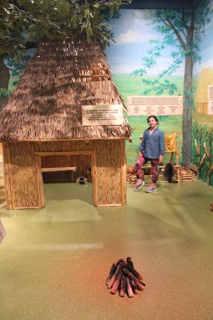 Missouri History Museum : Fishing and learning about primitive life in Missouri's History