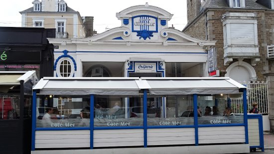 creperie c t mer dinard restaurant avis num ro de t l phone photos tripadvisor. Black Bedroom Furniture Sets. Home Design Ideas