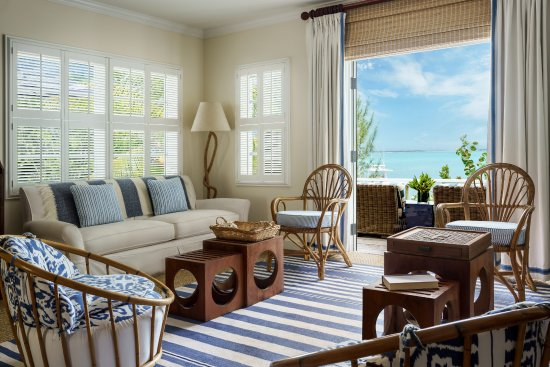 Dunmore Town, Harbour Island: Bayside Living room