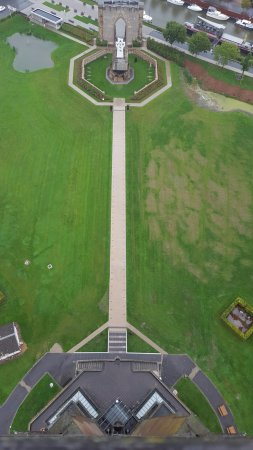 Diksmuide, Belgique : Not one for the vertigo sufferers.