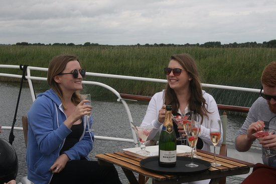 Athlone, Ireland: Champagne cruise