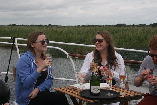 Athlone, Irland: Champagne cruise