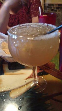El Rancho: tasty margarita