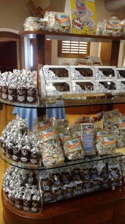 Saugatuck, MI: more candy displays