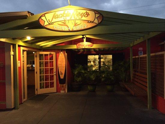 Entry to Jackie Rey's Ohana Grill