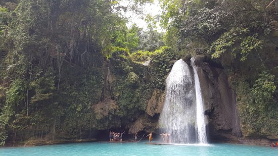 Kawasan Falls: En vacker men överskattad turistfälla.