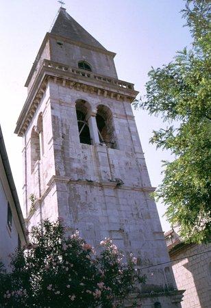 Osor, Croacia: il campanile