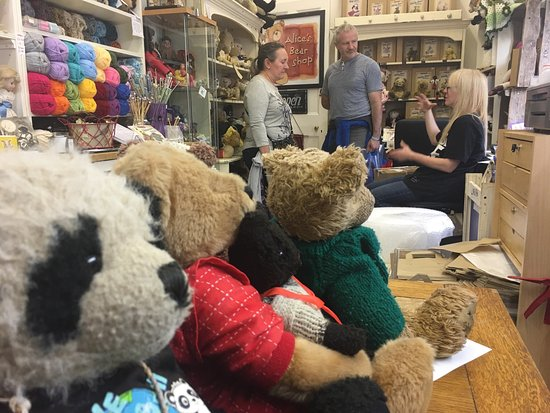 Alice's Bear Shop and Teddy Bear Hospital