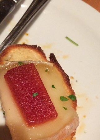 Salumeria Cafe & Deli Shop : Taleggio and quince
