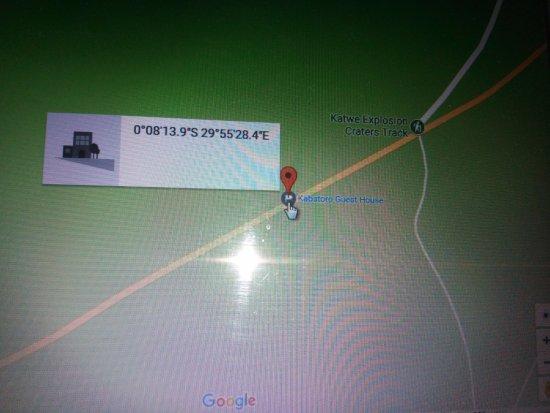 Kasese, Uganda: Location coordinates