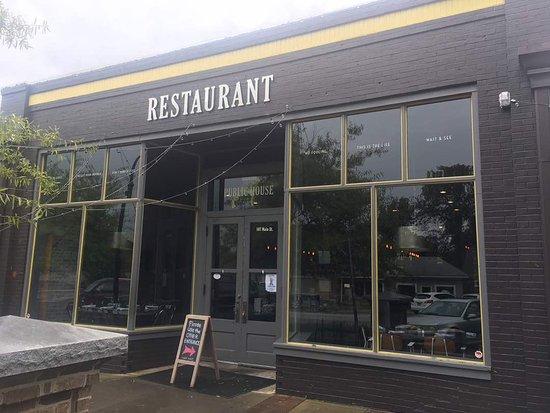 Lilburn, จอร์เจีย: Restauran Front