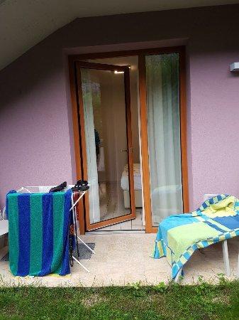 Dro, Italië: Unser Hotelzimmer Nr. 4
