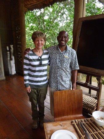 andBeyond Lake Manyara Tree Lodge: Best butler in the world, Mr. Abdullah