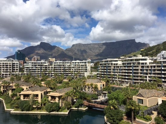 One&Only Cape Town: View from our balcony room