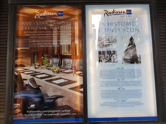 Radisson Blu Plaza Hotel Sydney: Varied views