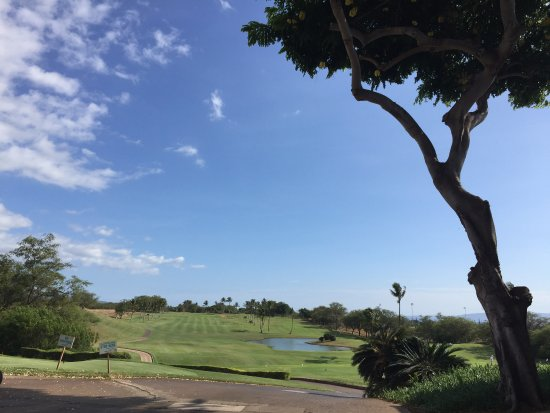 Maui Nui Golf Club : Hole #1