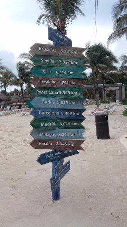 Catalonia Yucatan Beach Photo
