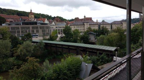 Schwäbisch Hall, ألمانيا: View from balcony