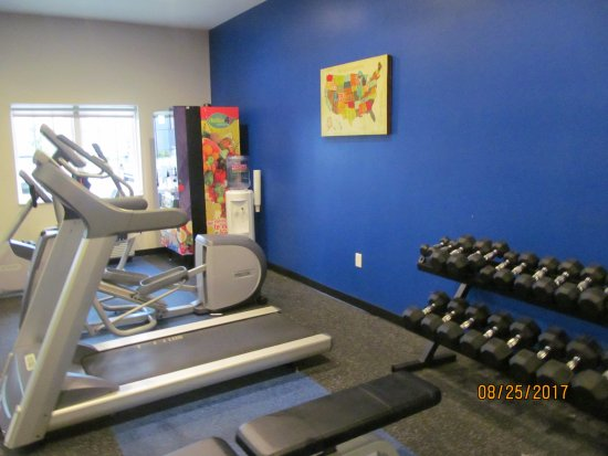 West Fargo, ND: Fitness room.