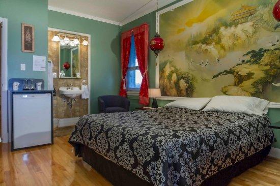 Jonquiere, แคนาดา: Chambre Chine avec lit Queen