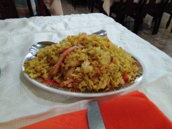 Alcudia, İspanya: Arroz al curry