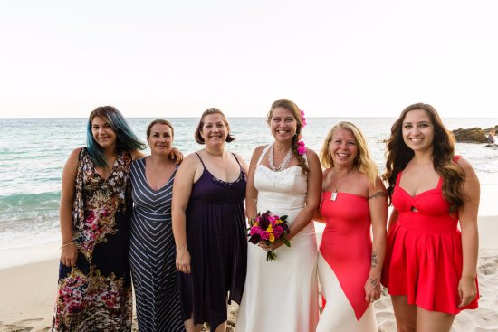 South Coast, St. Thomas: All my girls